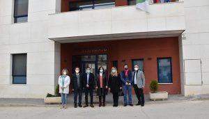 El Gobierno regional colabora con el Ayuntamiento de Barajas de Melo en una actuación para el ahorro y eficiencia energética en el edificio consistorial