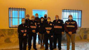 El Gobierno regional entrega material de emergencias a la Agrupación de Protección Civil de Minglanilla