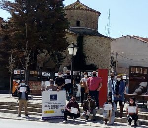 El Gobierno regional ha formado a ocho personas que han trabajado en la recuperación de parte del patrimonio urbano de Molina de Aragón