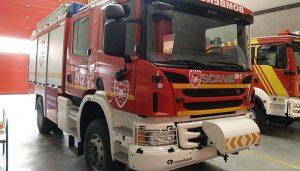 El Grupo Popular desvela el curioso caso del nuevo camión de bomberos del CEIS de Guadalajara sin parque ni bomberos