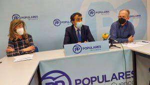 El PP critica que Isidoro y Dolz pongan por delante los intereses socialistas al progreso y desarrollo de Cuenca