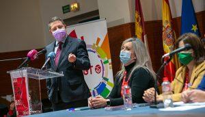 El presidente de Castilla-La Mancha anuncia la creación del Consejo de Diálogo Social a lo largo del mes de marzo