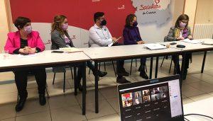 El PSOE de Cuenca celebra una jornada telemática para exponer las políticas feministas que están llevando a cabo en todas las instituciones