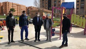 En marcha la renovación de más de una decena de áreas infantiles de Cuenca