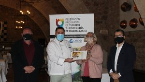 Entregados los premios del Concurso de la Ruta de la Tapa Provincial de la Federación de Turismo y Hostelería de Guadalajara