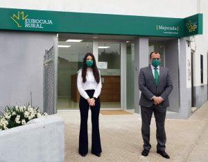 Eurocaja Rural, fiel a su compromiso ante el reto demográfico, abre una nueva oficina en Mejorada (Toledo)