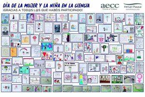 Ferial Plaza y AECC Guadalajara entregan sus premios al concurso de dibujo por el Día de la Mujer y la Niña en la ciencia