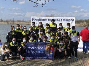 Brillante inicio de temporada del  Club Piragüismo Cuenca con Carácter