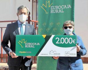 Fundación Eurocaja Rural entrega a Hogar Zoe una ayuda de 2.000 euros para favorecer la rehabilitación de sus usuarios