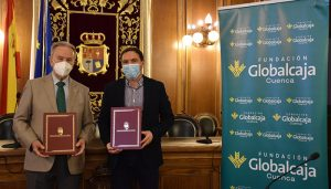La Diputación de Cuenca y Fundación Globalcaja firman un convenio de colaboración para sacar adelante el Circuito de Retos Virtuales