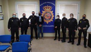 La Policía Nacional refuerza sus lazos de colaboración con los vigilantes de seguridad privada de Guadalajara
