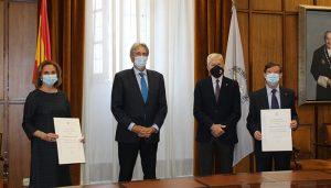 La Universidad de Alcalá entrega un donativo a Cáritas Diocesana recaudado entre la comunidad universitaria