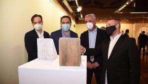Las diputaciones de Guadalajara y Cuenca retoman su colaboración en torno a la Fundación Antonio Pérez