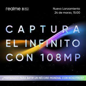 Los 108 megapíxeles del realme 8 Pro llegan a España el 24 de marzo