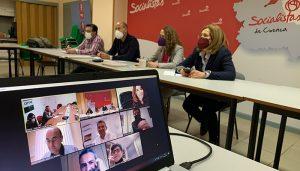 Los diputados y senadores del PSOE de Cuenca, Soria y Teruel muestran su apoyo al proyecto 5 For Rural