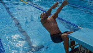 Pau Beltrán, un nadador con alma de matemático