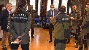robles da la bienvenida a los agentes medioambientales que se incorporan a la plantilla de guadalajara   Liberal de Castilla