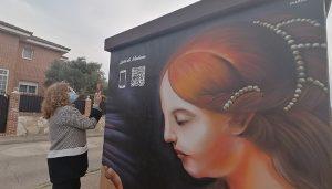Villanueva de la Torre visibiliza a grandes mujeres de la historia en el Día Internacional de la Mujer con un mural dedicado a Luisa de Medrano