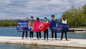 Brillante  actuación de las jóvenes promesas del Club Piragüismo Cuenca en el Campeonato de España de Invierno