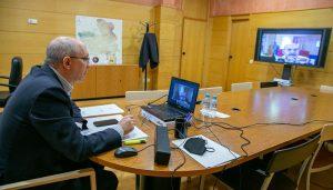 Castilla-La Mancha pone en común con las regiones de Aragón y Castilla y León los avances en la lucha contra la despoblación