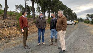 Cerca de 350 efectivos de Geacam actúan preventivamente en 1.500 hectáreas de masas forestales de la provincia de Guadalajara