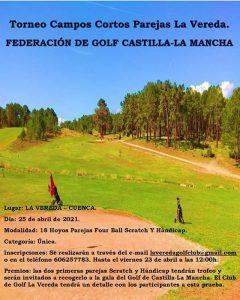 El Club de Golf la Vereda acoge el 25 de abril el campeonato regional de golf por parejas de campos cortos