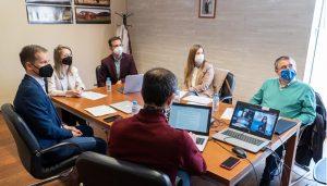 El Gobierno regional y la UCLM abordan nuevas formas de cooperación en materia europea