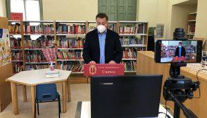 """El manifiesto del Día del Libro anima en Cuenca a encontrar """"tu primer libro inolvidable"""" que abra la puerta """"a tantos momentos de felicidad"""""""