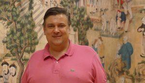 Fernando Parlorio concejal de Turismo en Salón Chino