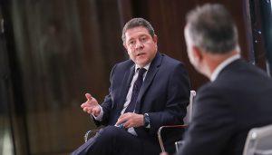"""García-Page """"El dinero europeo debe servir para mejorar en condiciones estructurales, de competitividad económica y de sostenibilidad"""""""