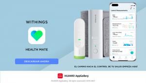 Health Mate, la popular aplicación de tecnología de la salud de Withings, ya está disponible en AppGallery
