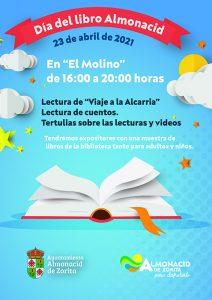 Lectura del Viaje a La Alcarria, en el Día del Libro, para subrayar la reapertura de la Biblioteca de Almonacid