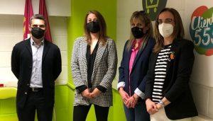 La Asociación de Mujeres Empresarias de Cuenca y Carrefour estudiarán futuras colaboraciones
