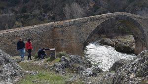 La Diputación de Cuenca lleva a cabo la reconstrucción del puente del Castellar con una inversión de 120.000 euros