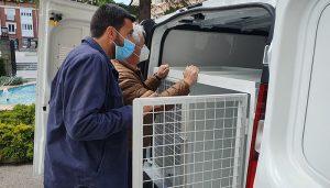 La Diputación de Guadalajara adquiere un vehículo para recoger animales abandonados protegiendo su bienestar