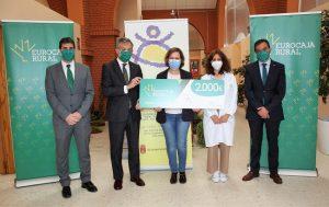 La Fundación Eurocaja Rural aporta 2.000 euros al Centro Ocupacional 'La Alegría' del Ayuntamiento de Mocejón para la adquisición de material de protección