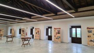 La Sala de Cubiertas del Ayuntamiento de Huete acoge la exposición 'El Cristal de Hispania'