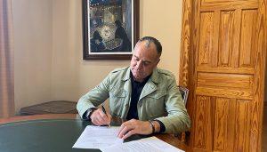 López Carrizo ofrece a Su Majestad el Rey Felipe VI la presidencia de honor del centenario como Noble Ciudad de Tarancón