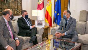 López Carrizo traslada al Gobierno regional los proyectos para el crecimiento industrial de Tarancón