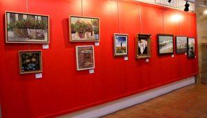 Sigüenza acoge en abril la exposición 'Encuentros culturales I MolinArte, pintura y escultura'