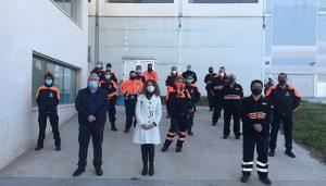 Un total de 63 personas de Guadalajara participan en un curso básico que les habilita como voluntarias y voluntarios de Protección Civil