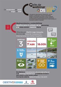 Una webinar de Cáritas Cuenca reflexiona sobre el deterioro mediambiental y el crecimiento de la pobreza y la desigualdad en el marco de los objetivos de desarrollo sostenible