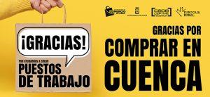 La Asociación de Comercio de Cuenca lanza una campaña de agradecimiento al consumidor por elegir el comercio local