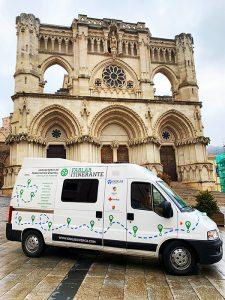 Arranca FabLab Itinerante, el laboratorio de fabricación digital sobre ruedas que visitará todas las provincias de Castilla-La Mancha