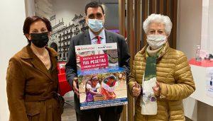 Banco Santander y Manos Unidas Cuenca recogerán pesetas para convertirlas en un proyecto solidario