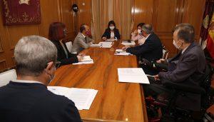 Bellido y la consejera de Bienestar Social se reúnen con CERMI en el Día Nacional de la Convención de los Derechos de Personas con Discapacidad