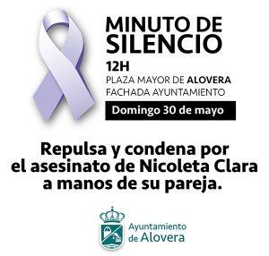 Concentración en Alovera en recuerdo de Nicoleta, la mujer asesinada por su pareja