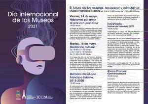 El Ayuntamiento de Guadalajara celebra el Día Internacional de los Museos con varias actividades y una jornada de puertas abiertas en el Museo Francisco Sobrino