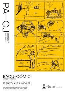 El Centro Joven de Cuenca inaugura la muestra 'Mitos y viñetas' de EACU-Cómic
