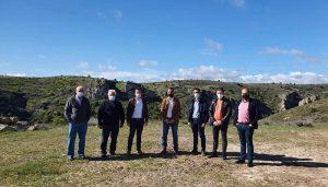 El Gobierno regional invierte 90.000 euros para mejorar las infraestructuras del Parque Natural del Barranco del Río Dulce
